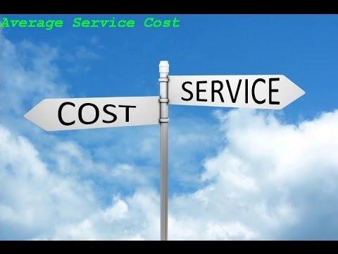 Average service cost